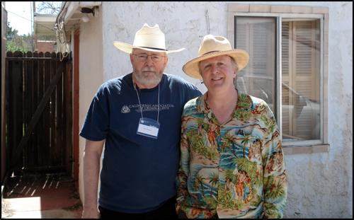 Don Herron with Dennis McMillan