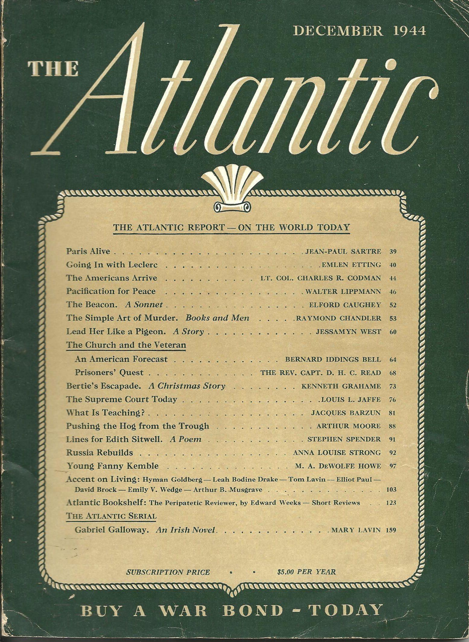 The Simple Art of Murder (1)--Atlantic Dec 1944