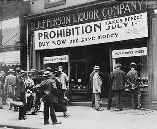 Prohibition Photo